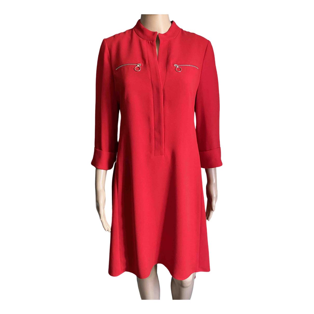 Claudie Pierlot \N Kleid in  Rot Polyester