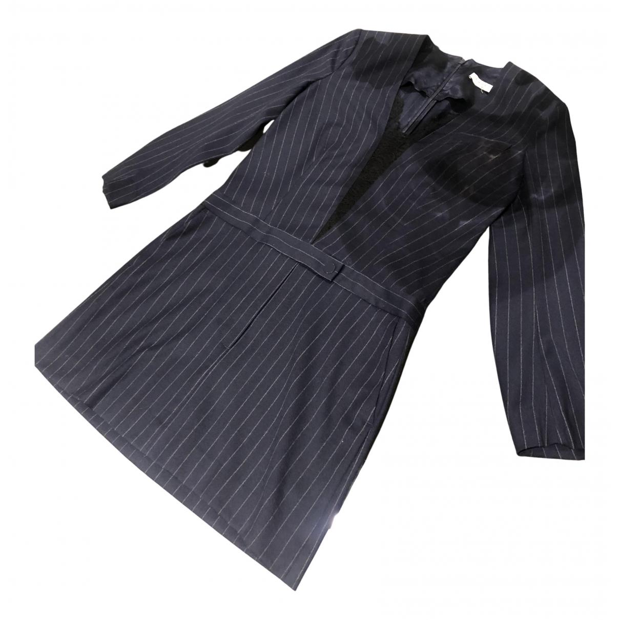 Sandro N Navy Wool dress for Women 1 0-5