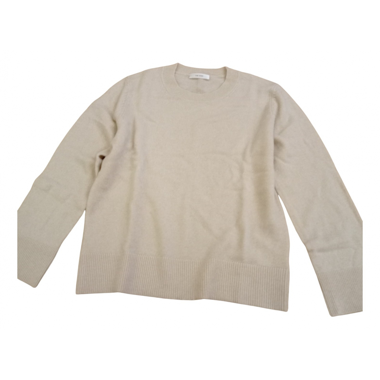 The Row \N Pullover in  Beige Wolle