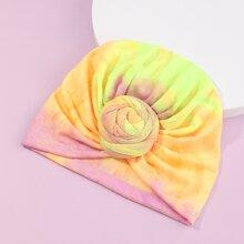 Baby Gradient Pattern Turban Hat