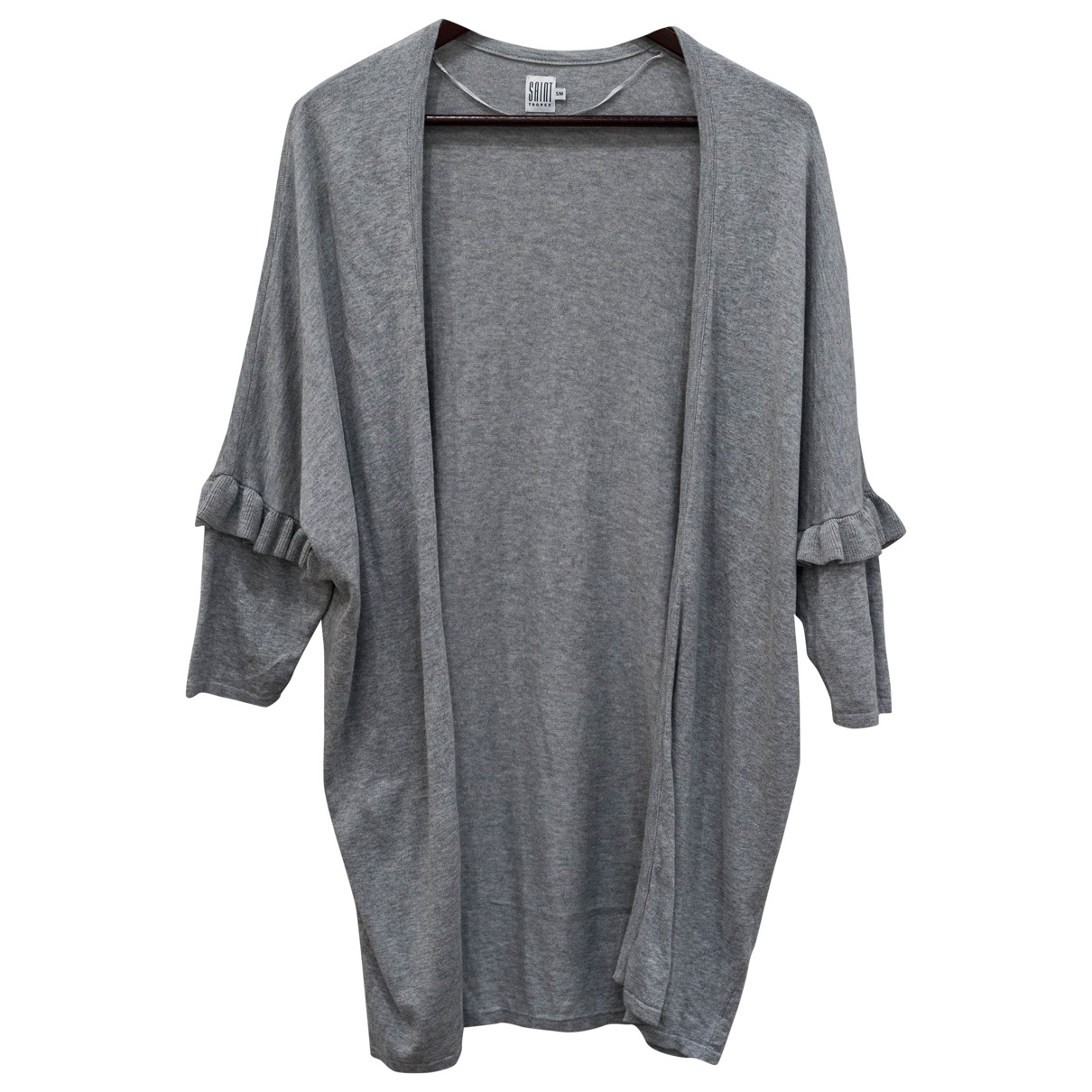 - Pull Oversize pour femme en coton - gris