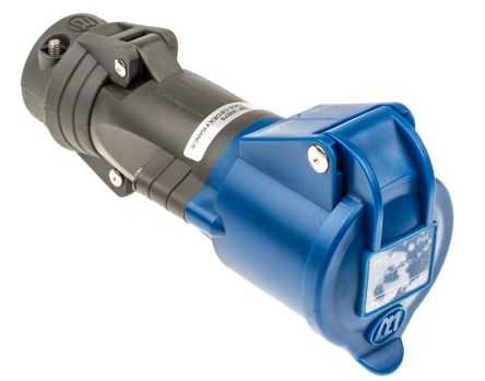 Legrand Blue Cable Mount Industrial Power Socket, Rated At 16.0A, 200 → 250 V