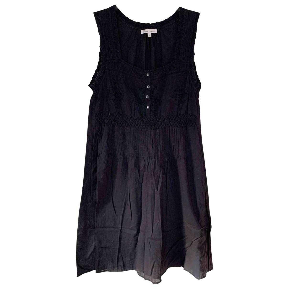 Les Petites - Robe   pour femme en coton - noir