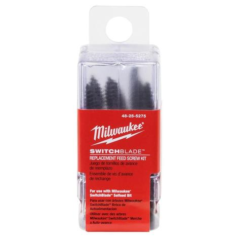 Milwaukee SwitchBlade™ Replacement Feed Screw Kit
