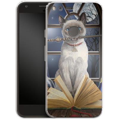 Google Pixel XL Silikon Handyhuelle - Hocus Pocus von Lisa Parker