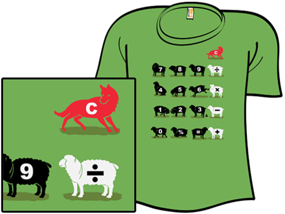 Counting Sheep T Shirt