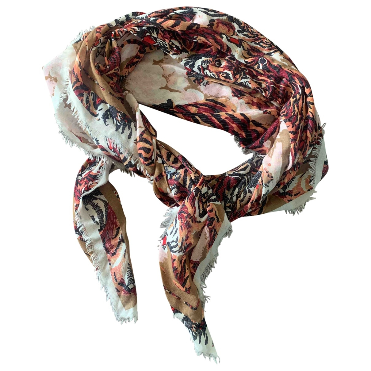 Kenzo \N Multicolour Wool scarf for Women \N