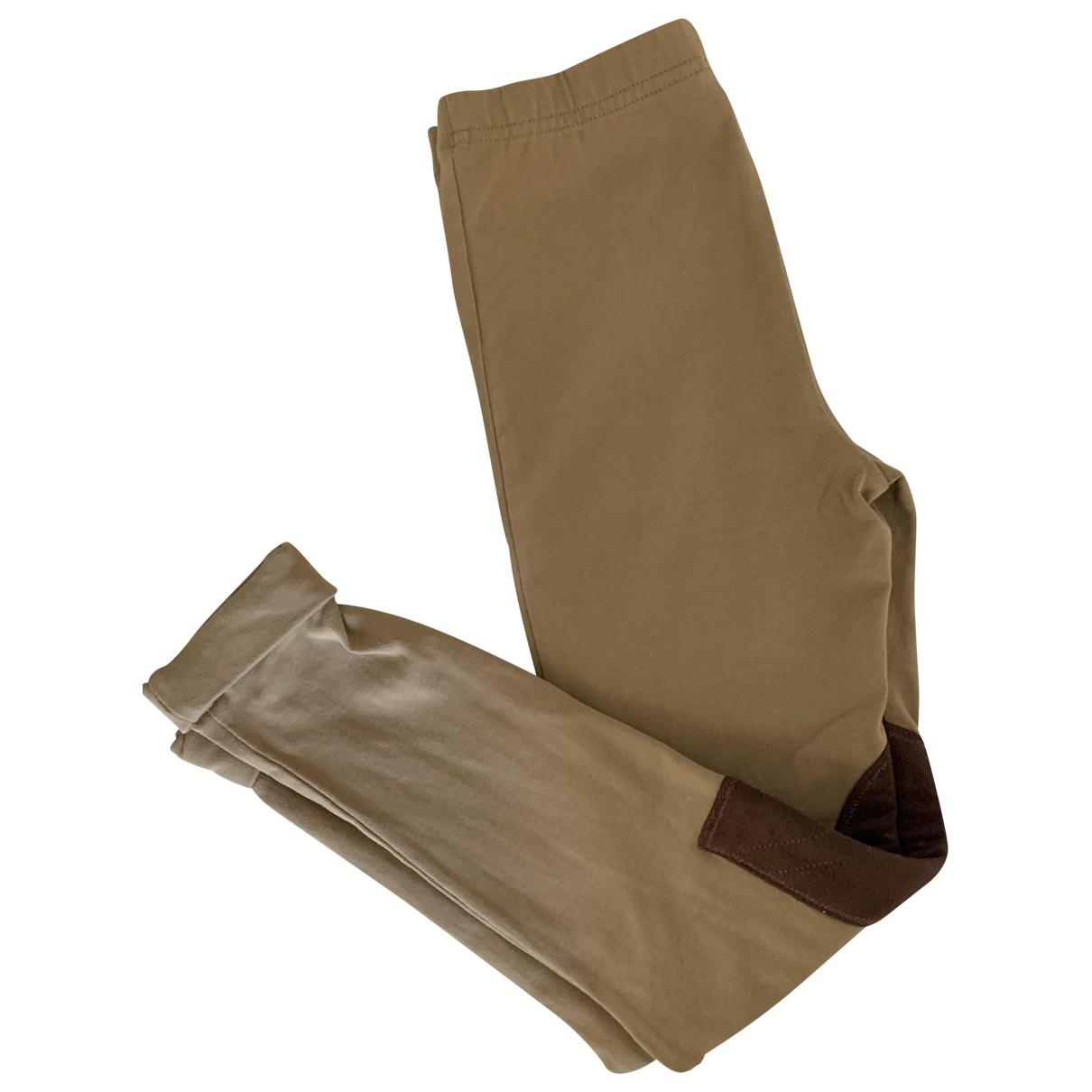 Polo Ralph Lauren - Pantalon   pour enfant en coton - camel