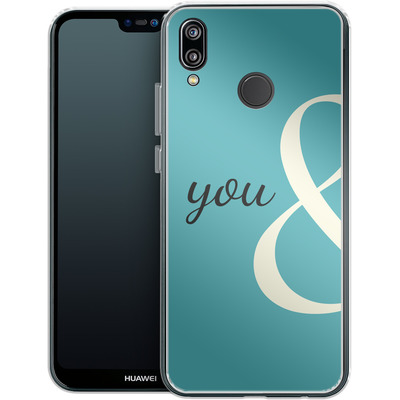 Huawei P20 Lite Silikon Handyhuelle - You And von caseable Designs