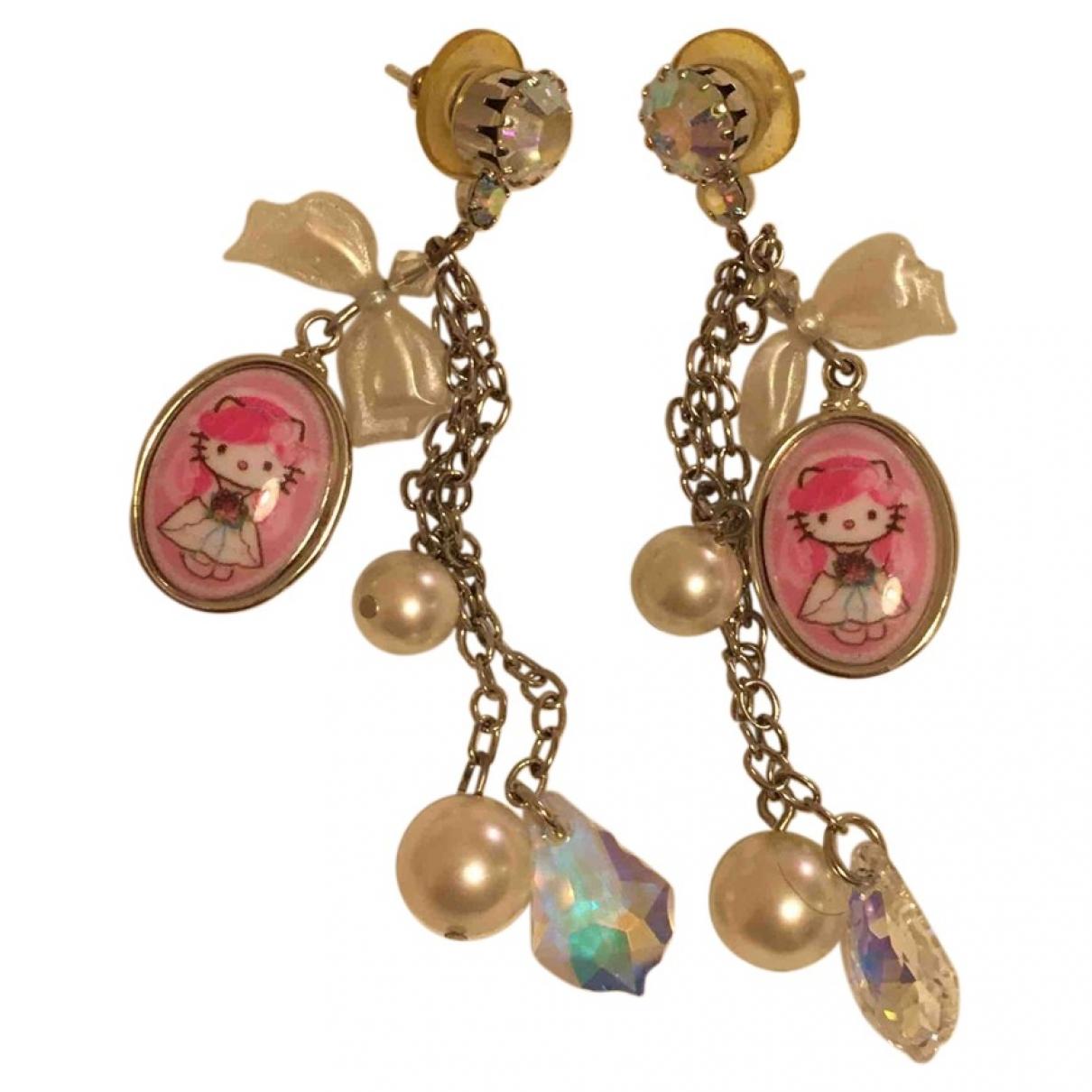 - Boucles doreilles   pour femme - multicolore