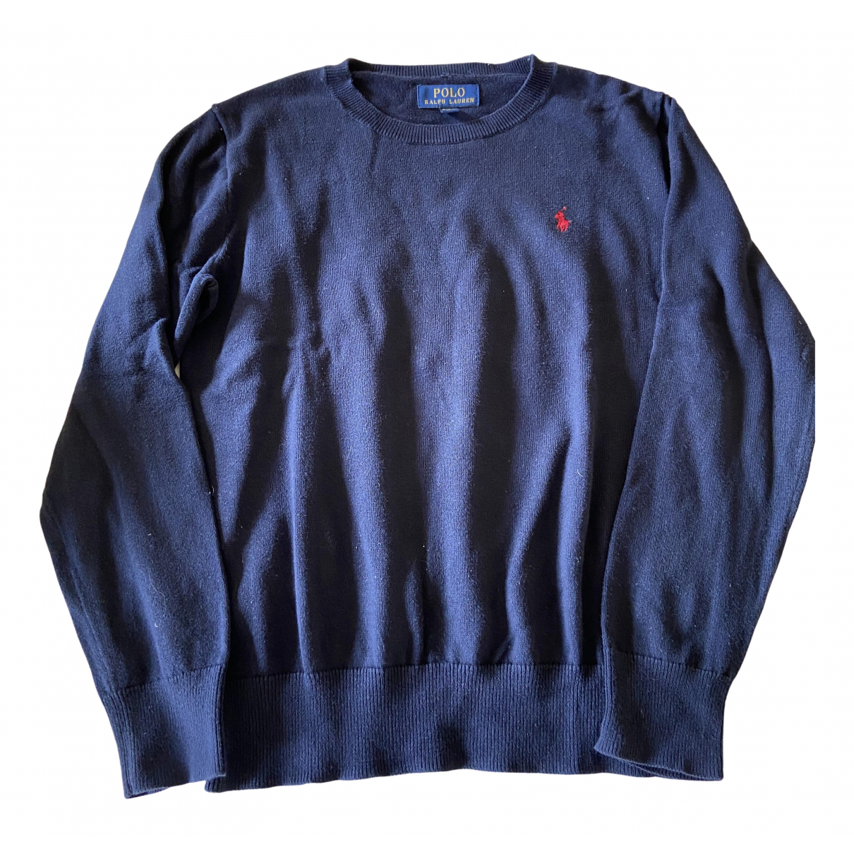 Polo Ralph Lauren \N Blue Cotton Knitwear for Kids 10 years - up to 142cm FR