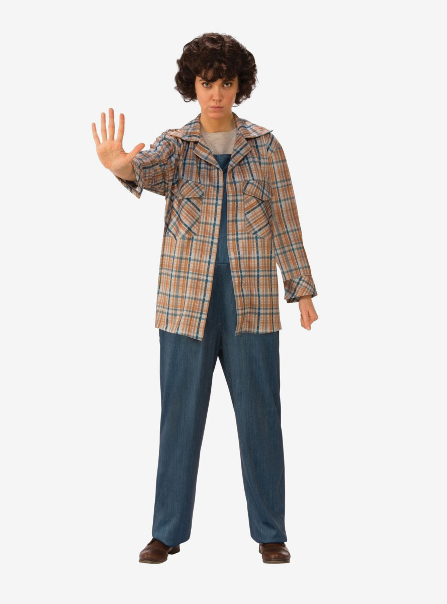 Stranger Things Eleven's Plaid Shirt