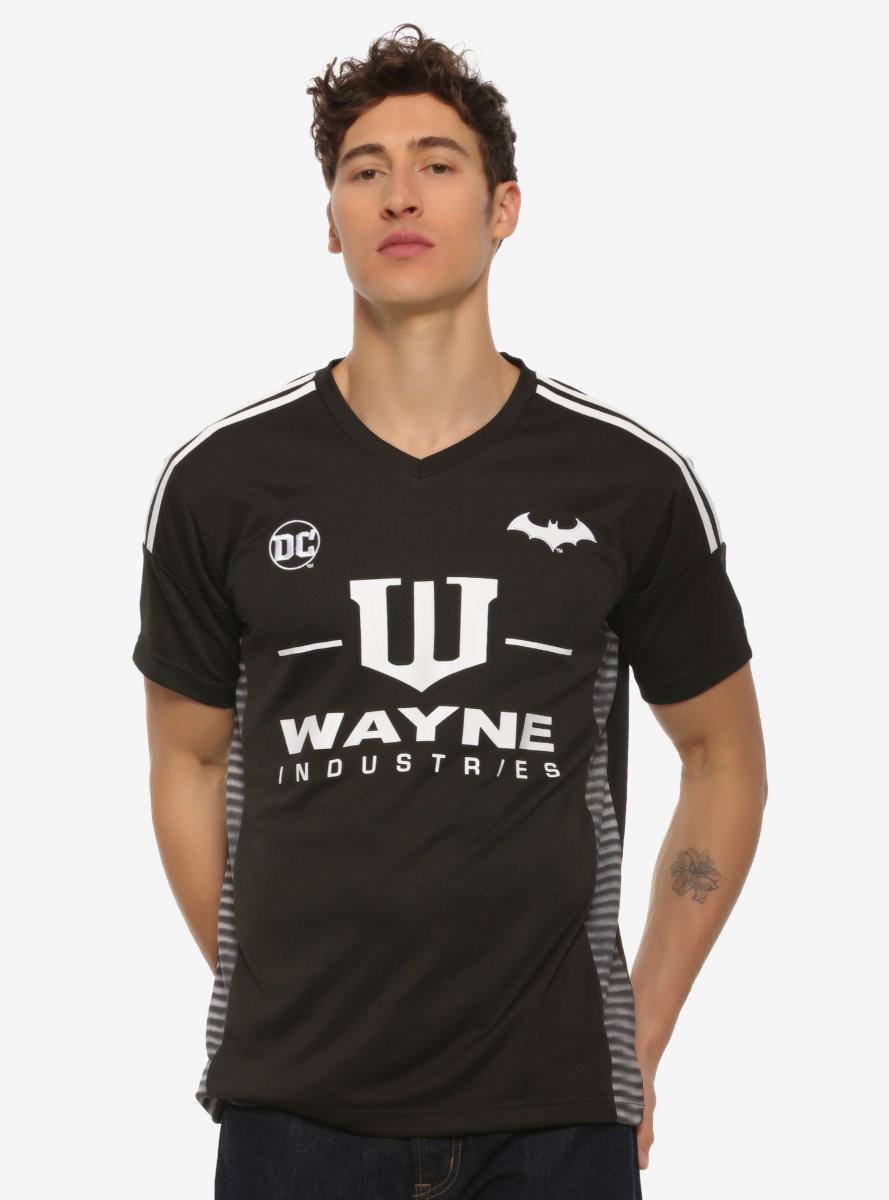 DC Comics Batman Wayne Industries Soccer Jersey - BoxLunch Exclusive