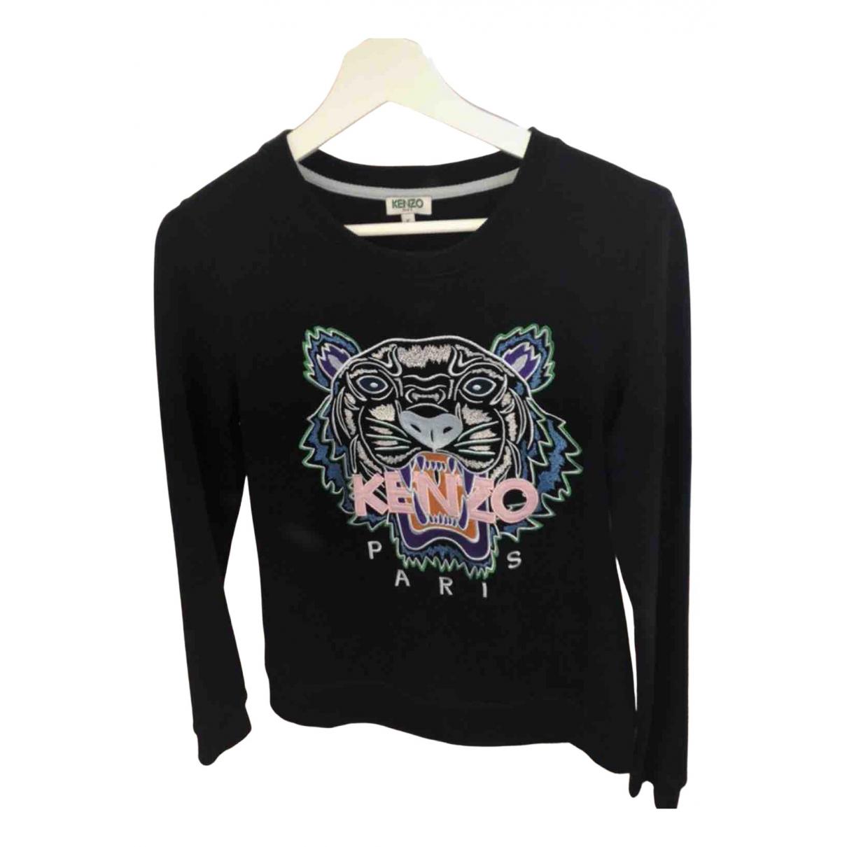 Kenzo \N Pullover in  Schwarz Baumwolle