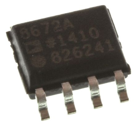 Analog Devices AD8672ARZ , Op Amp, 10MHz, 8-Pin SOIC