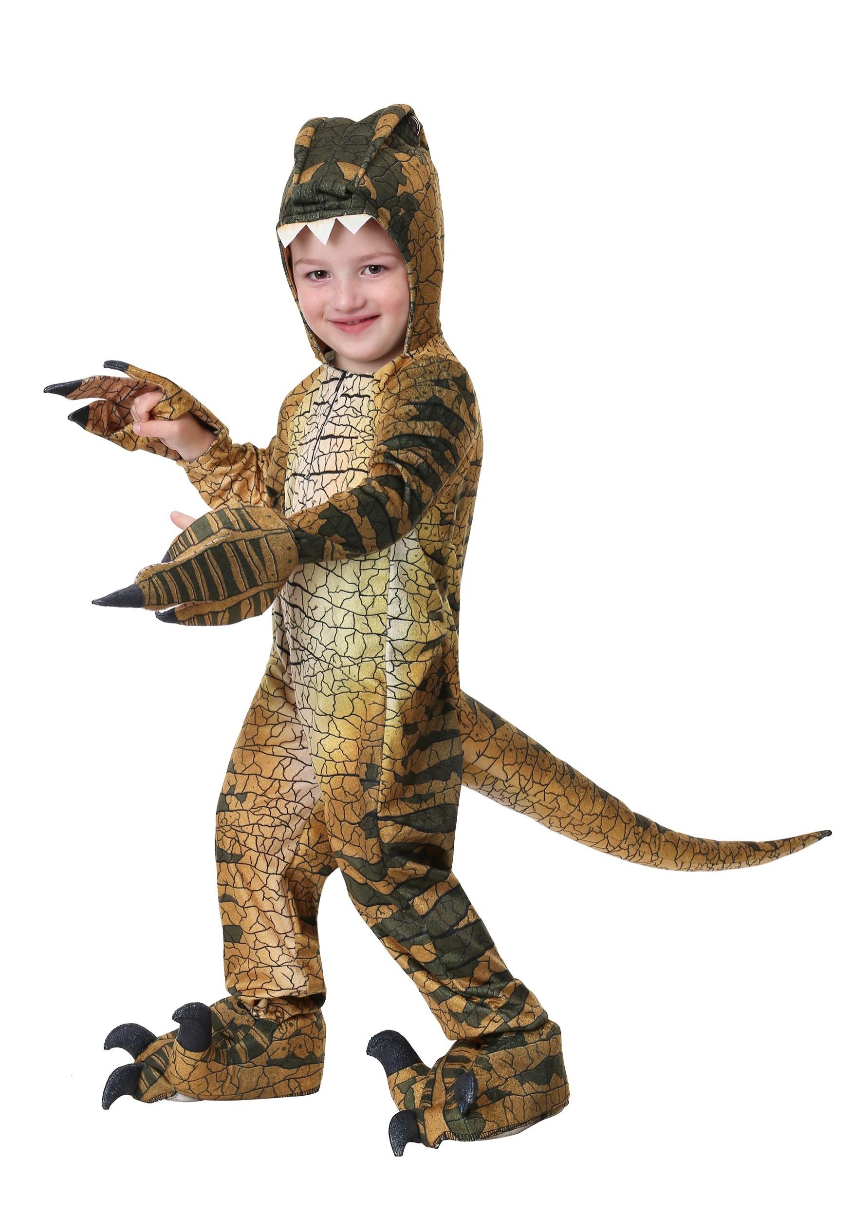 Velociraptor Costume for a Toddler