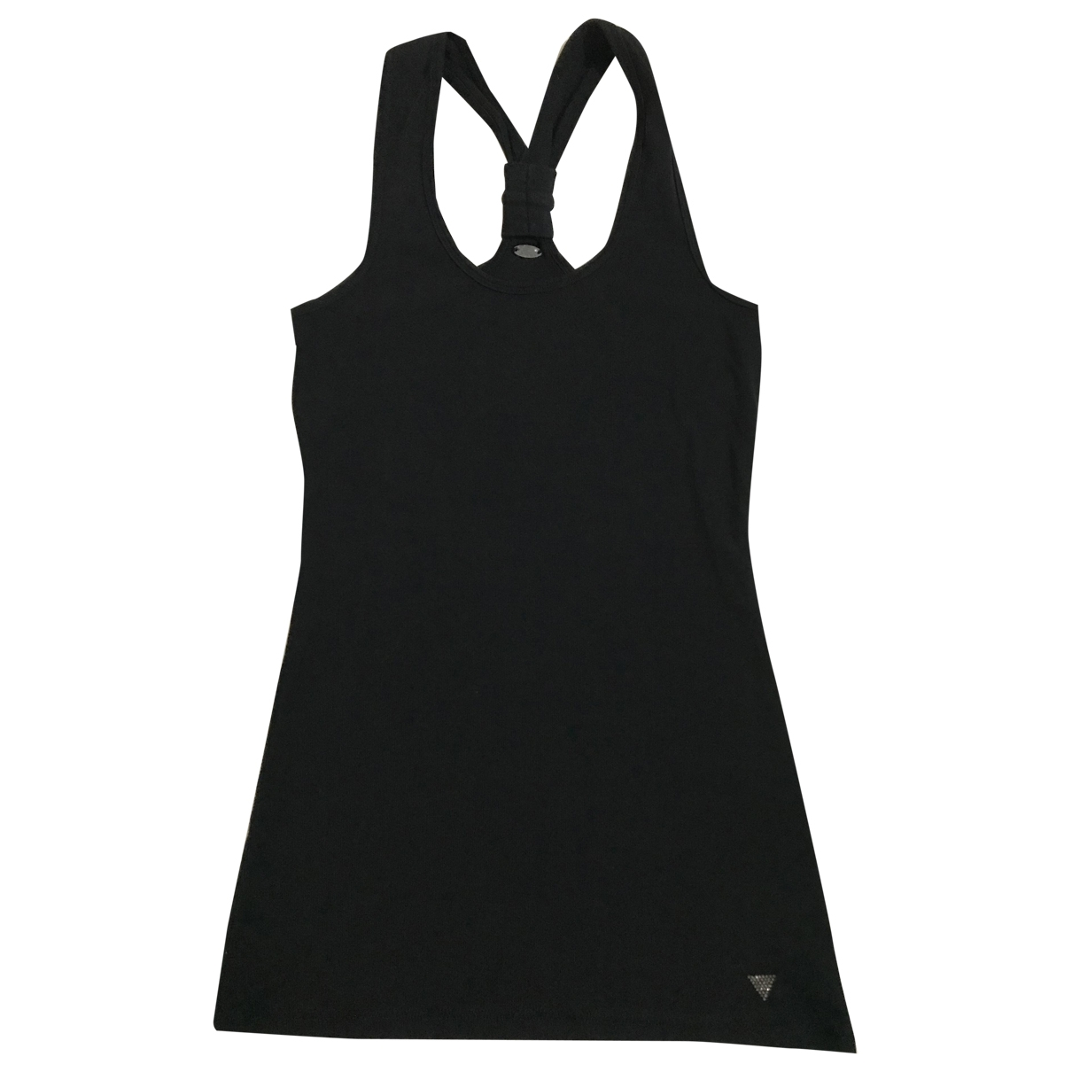Guess - Top   pour femme en coton - noir