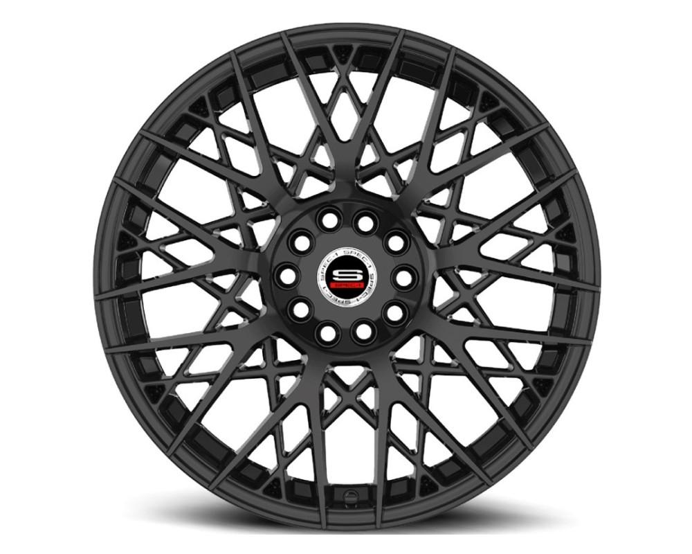 Spec-1 SP-53 Wheel Racing Series 18x8 5x112 5x114.3 38mm Gloss Black