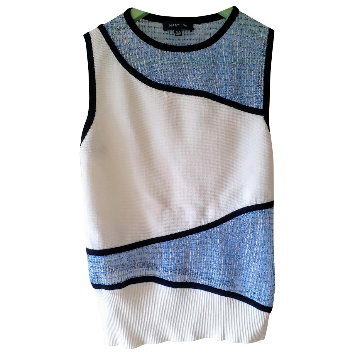 Maryling - Top   pour femme - bleu