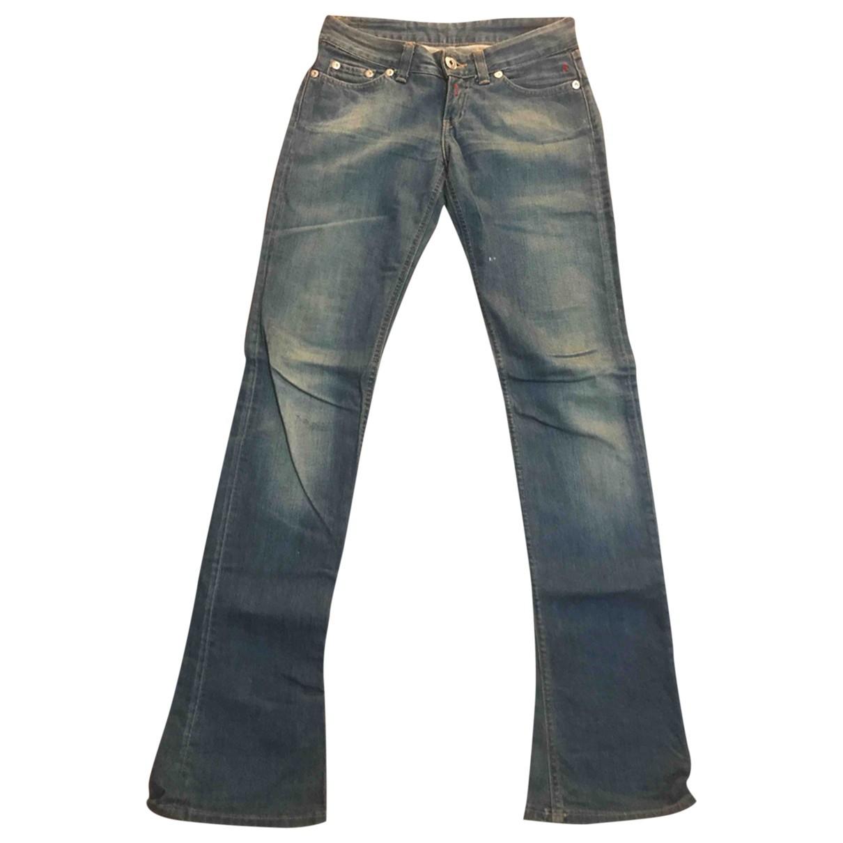 Replay \N Blue Denim - Jeans Jeans for Women 34 FR