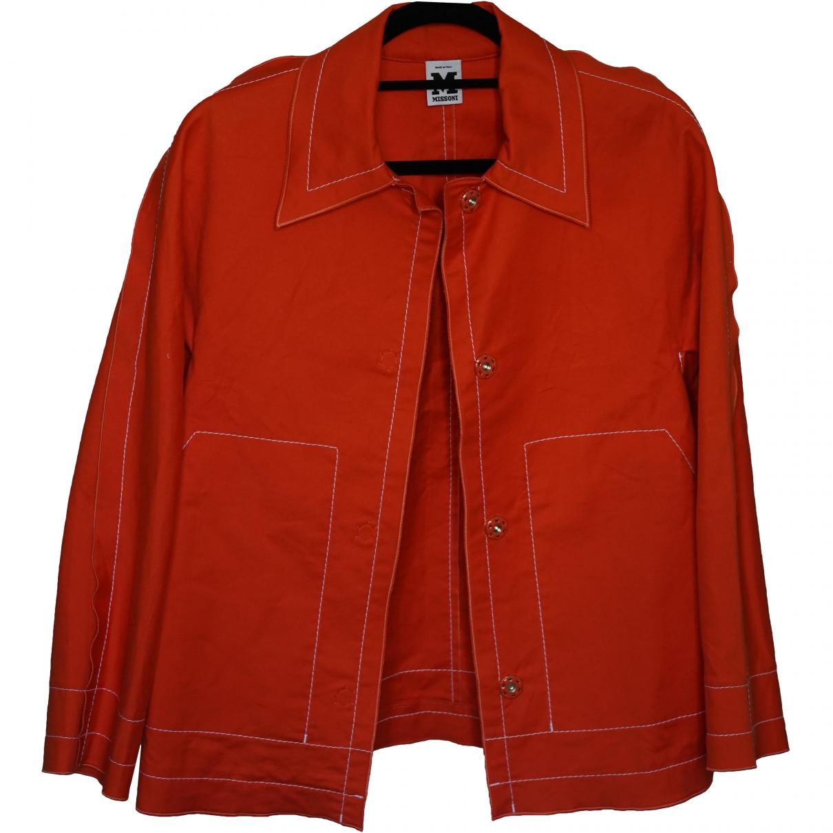 M Missoni \N Orange Cotton jacket for Women 40 IT