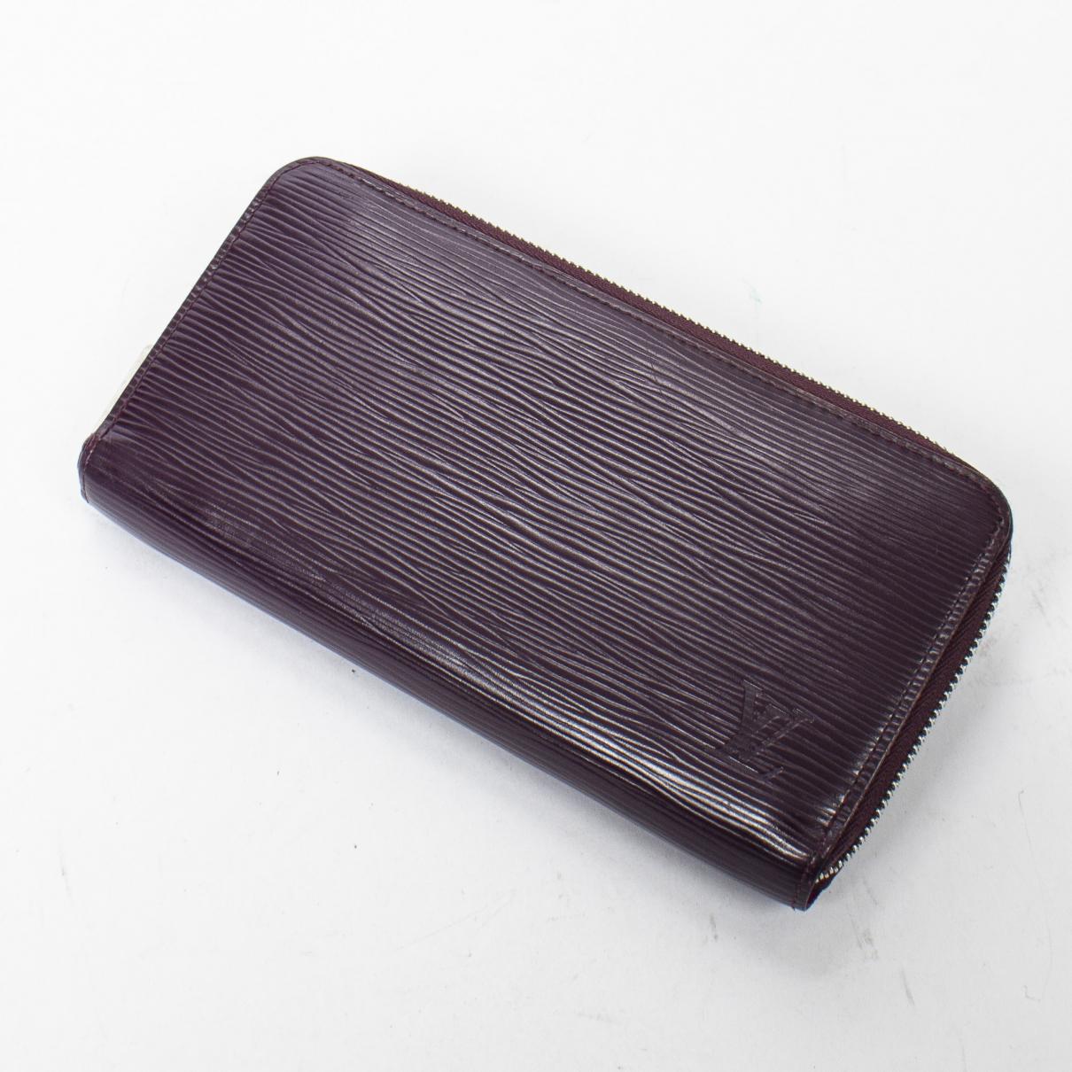 Louis Vuitton - Portefeuille Zippy pour femme en cuir