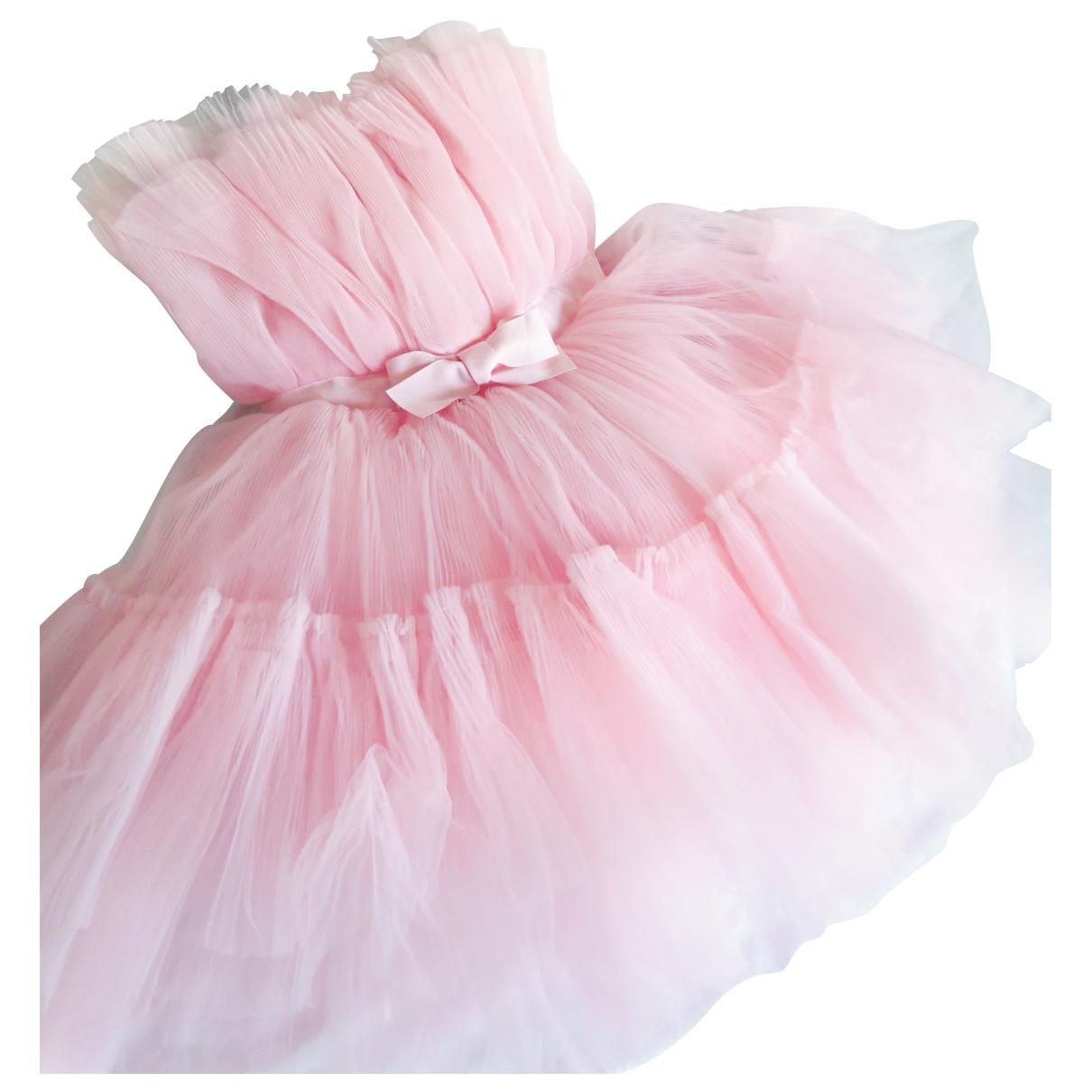 Giambattista Valli X H&m \N Kleid in  Rosa Polyester