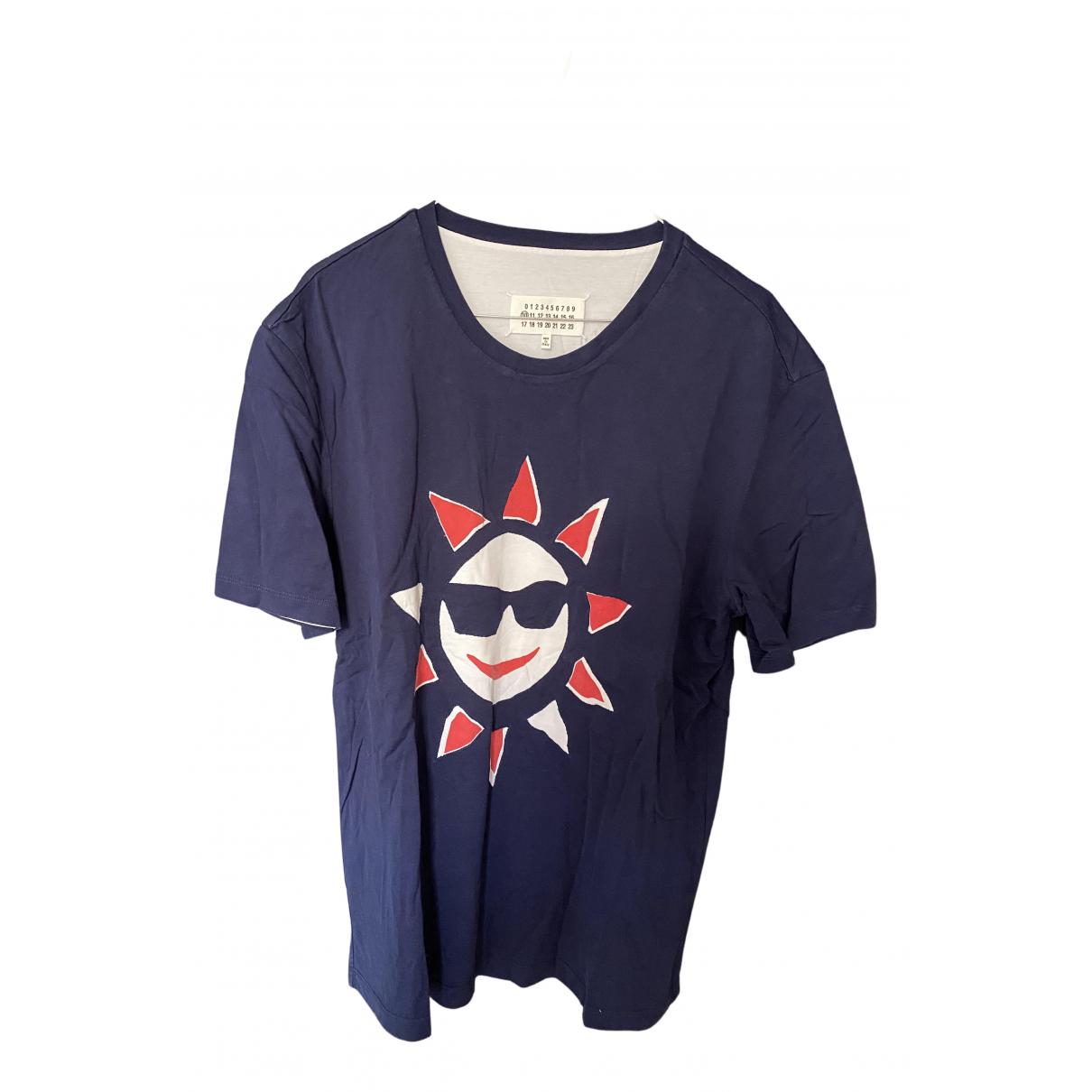 Maison Martin Margiela - Tee shirts   pour homme en coton - marine