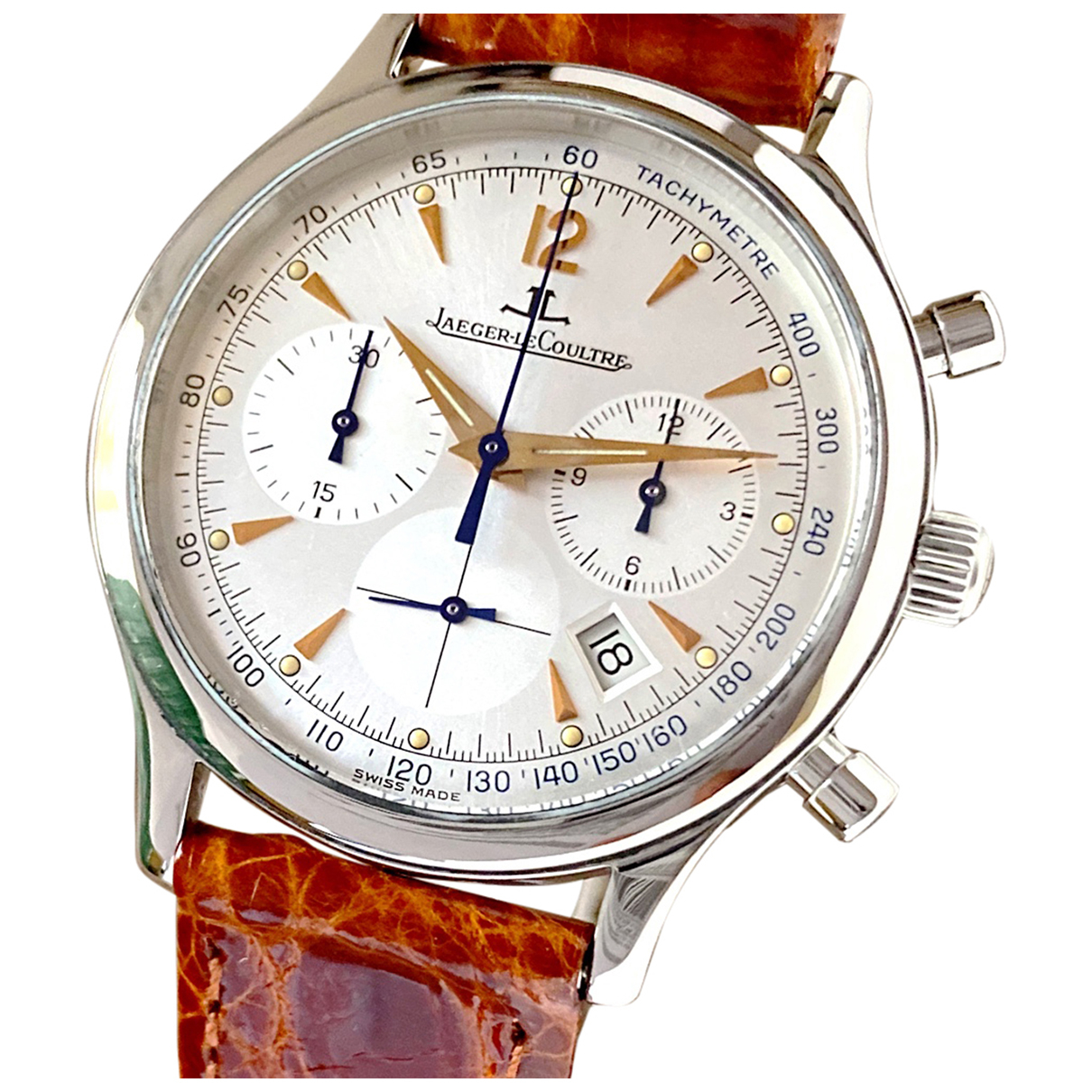 Jaeger-lecoultre Master Control  White Steel watch for Men \N