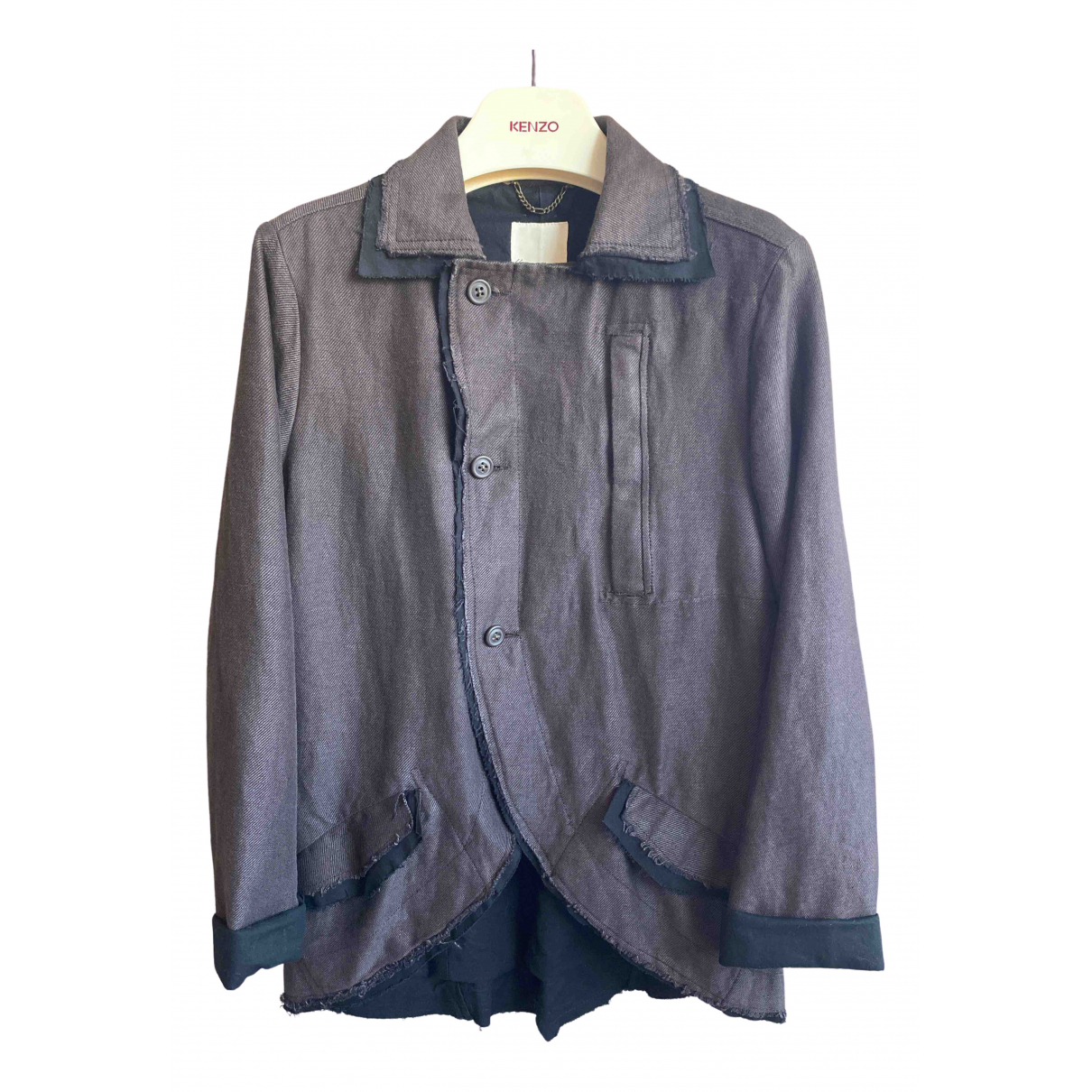 Diesel - Veste   pour femme en lin - marron