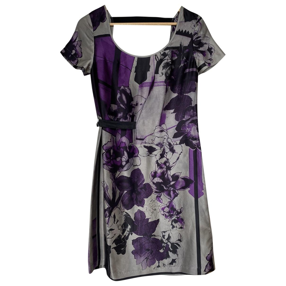 Diesel - Robe   pour femme en soie - multicolore