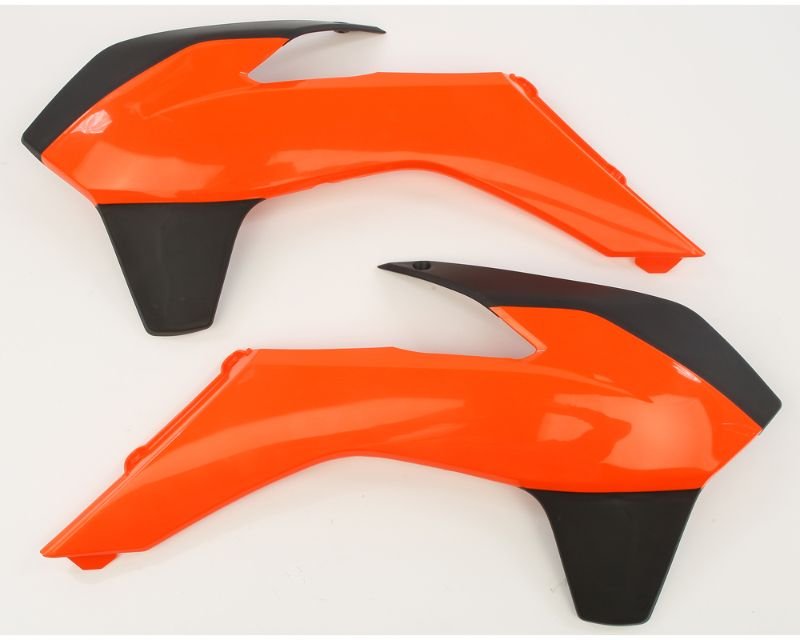 Acerbis 2314255225 Radiator Shroud Orange/Black KTM SX125 13-15