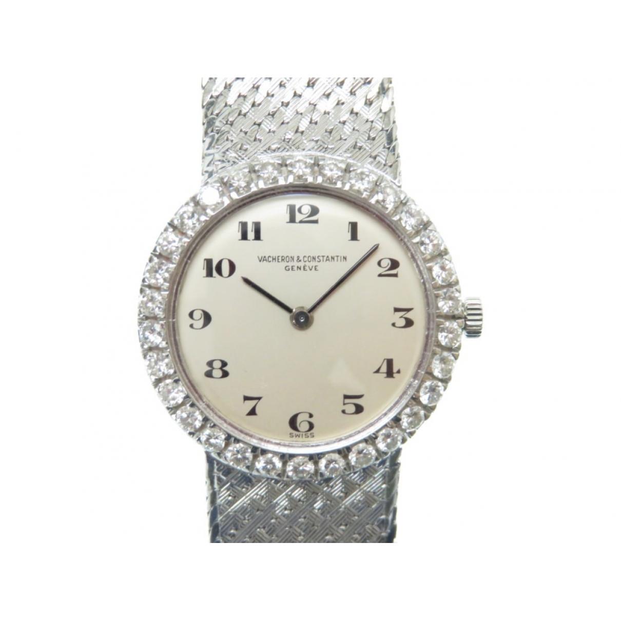 Vacheron Constantin Vintage Uhr in  Silber Weissgold