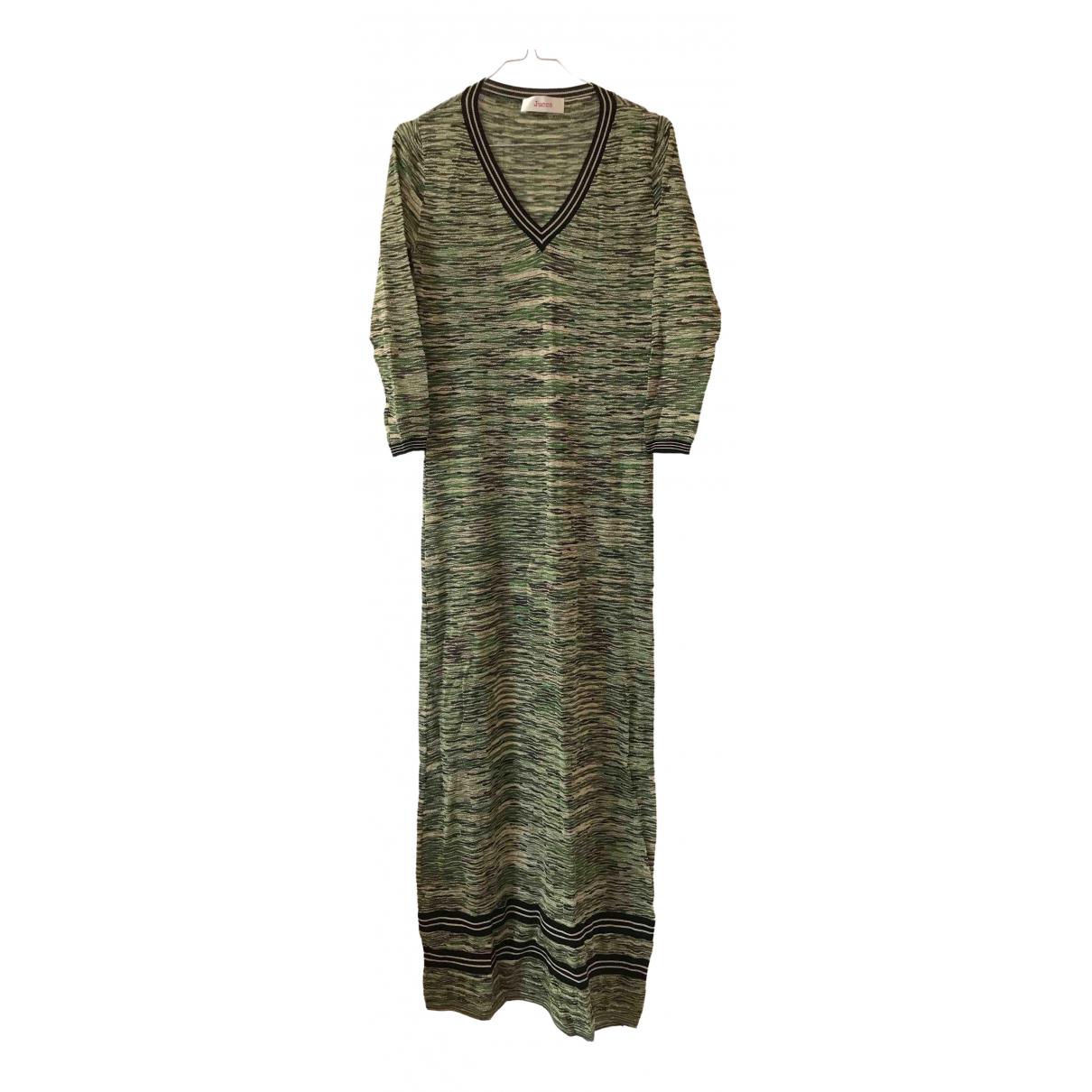 Jucca \N Kleid in  Gruen Baumwolle - Elasthan