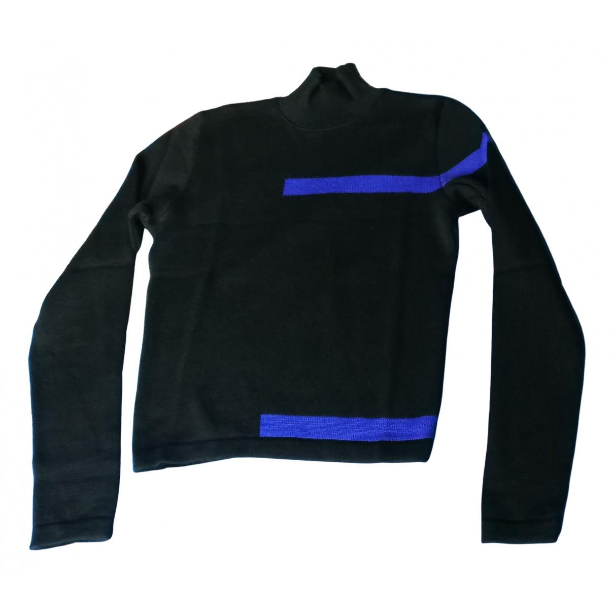 Claude Montana \N Black Wool Knitwear for Women 40 IT