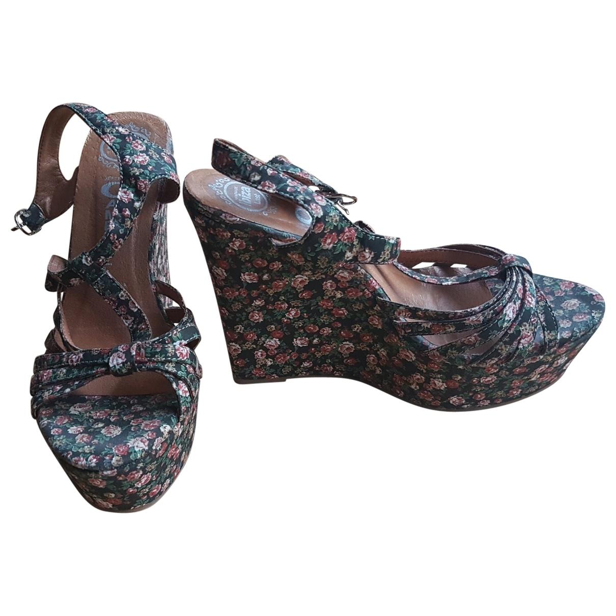 Jeffrey Campbell \N Multicolour Cloth Sandals for Women 37 EU