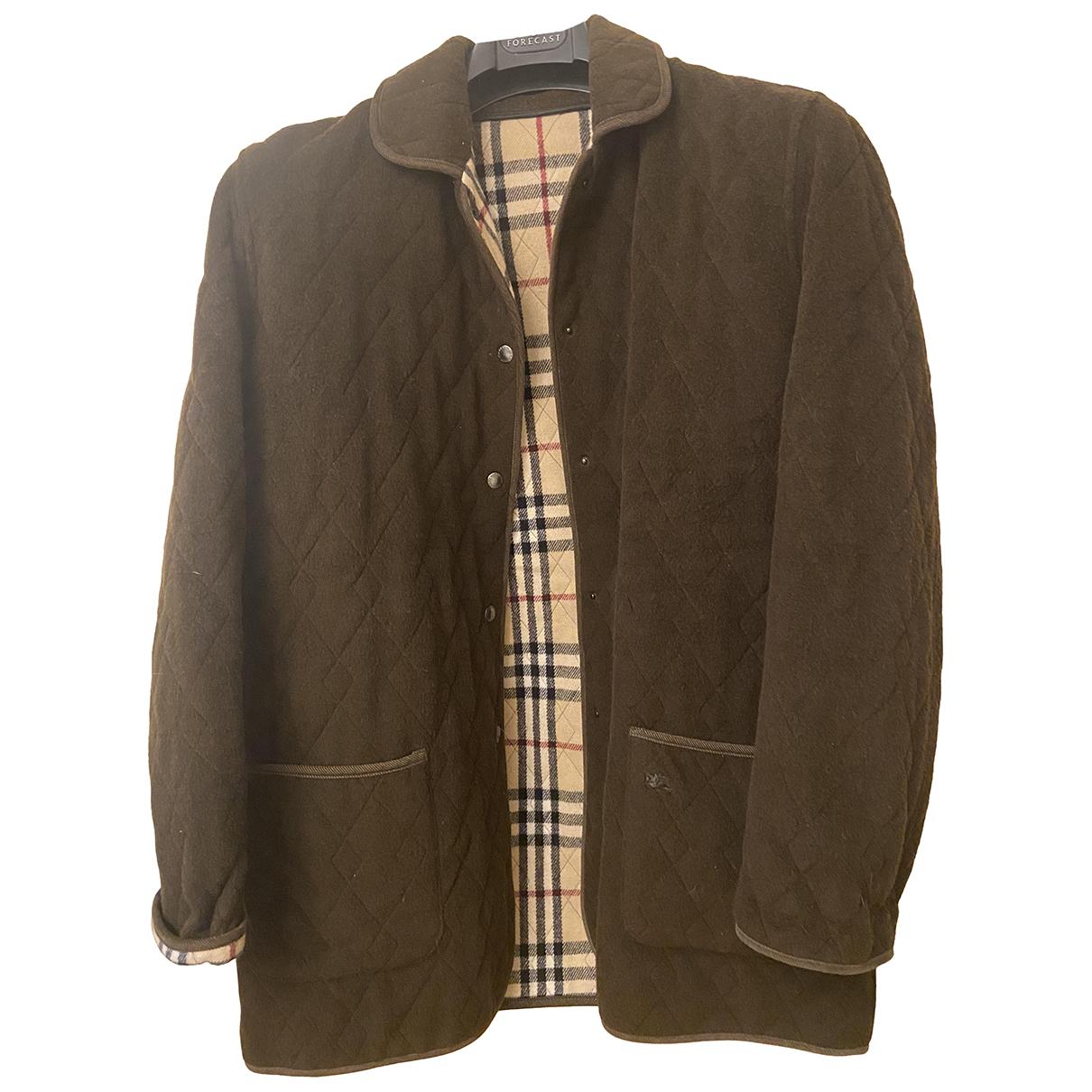 Burberry N Brown Wool jacket for Women XXL International