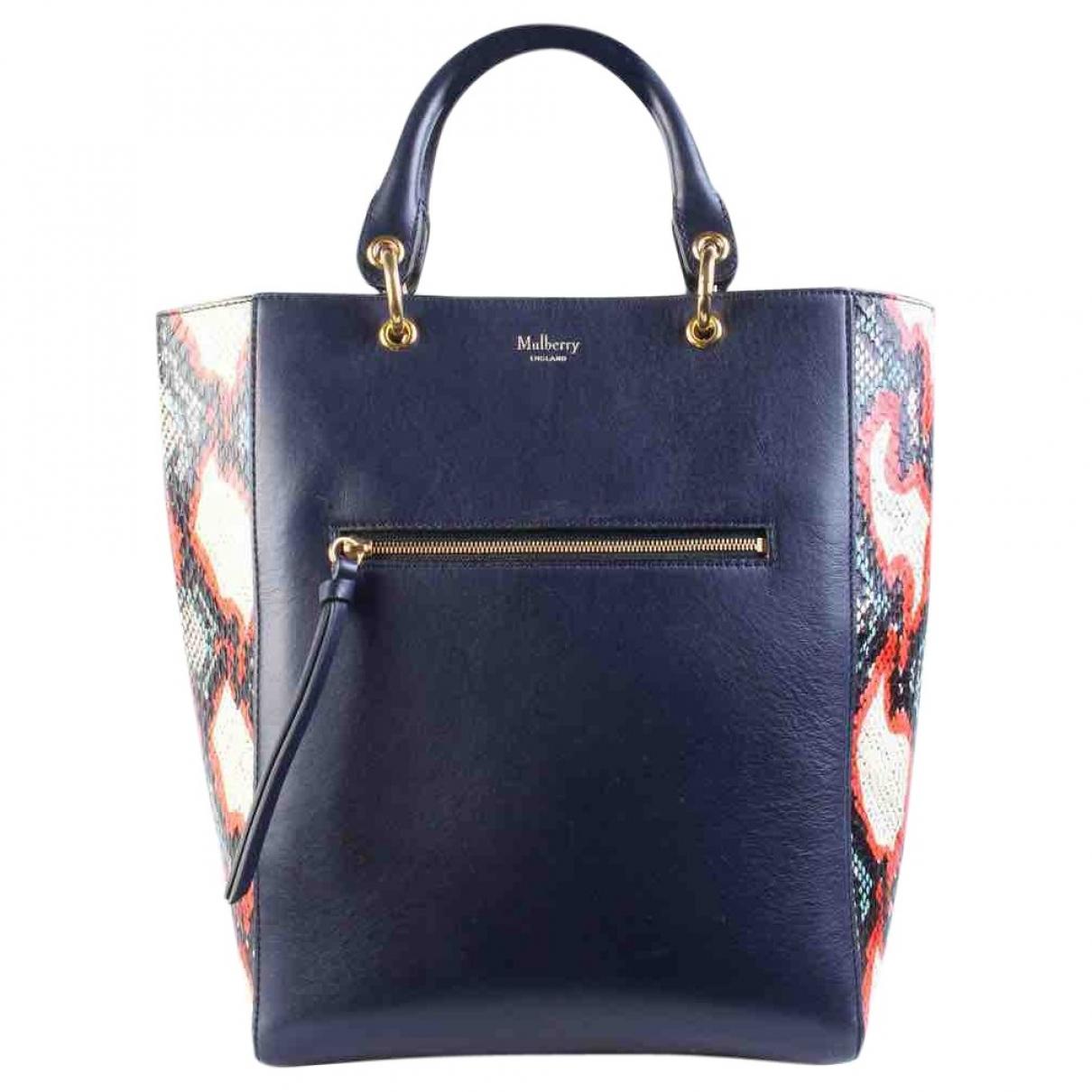 Mulberry \N Navy Leather handbag for Women \N