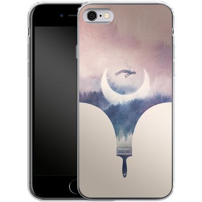 Apple iPhone 6 Silikon Handyhuelle - Fleeting Moments Wide von Enkel Dika