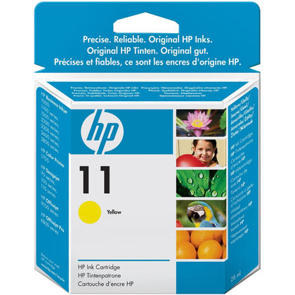 HP 11 C4838AN Original Yellow Ink Cartridge