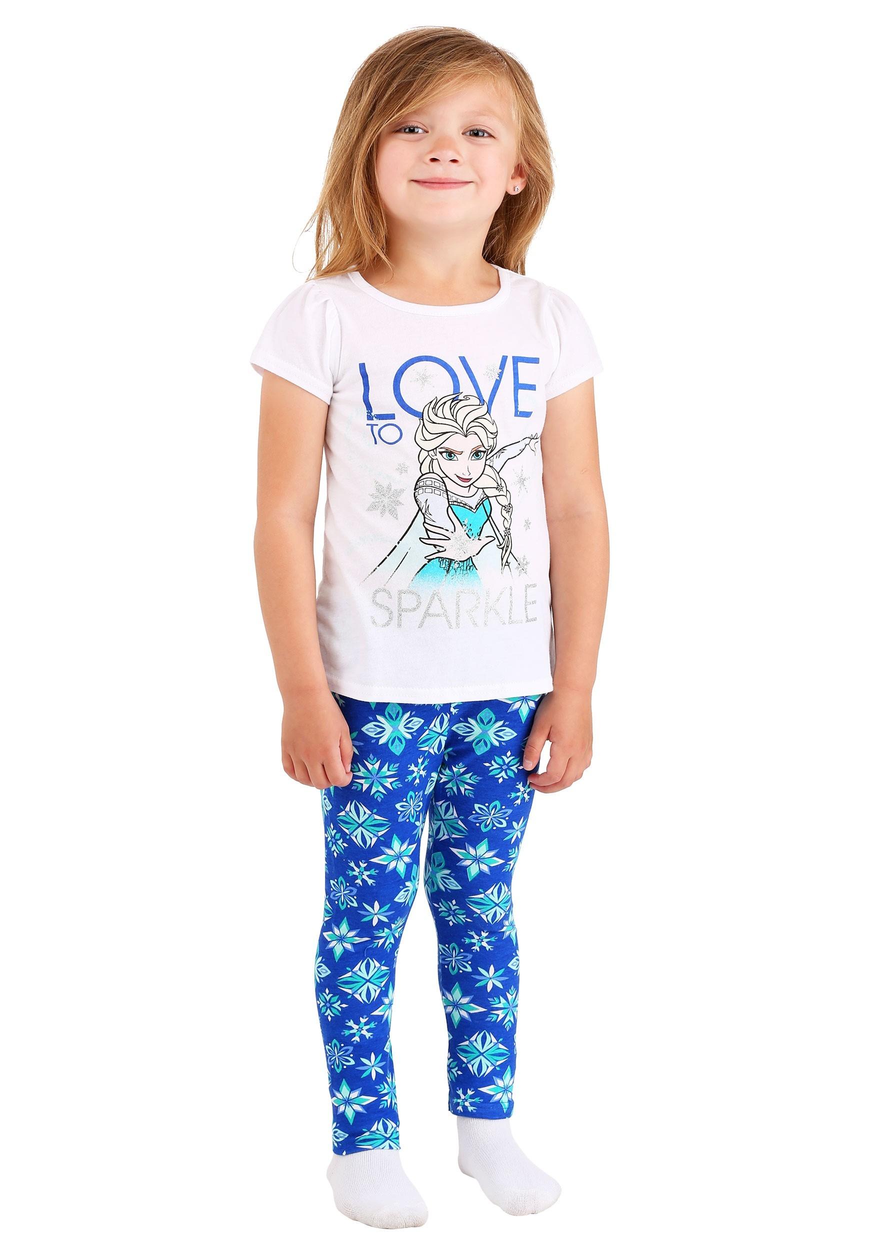 Toddler Frozen Love to Sparkle Girls 2pc Set