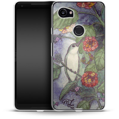 Google Pixel 2 XL Silikon Handyhuelle - Mary Layton - Flying birds von TATE and CO