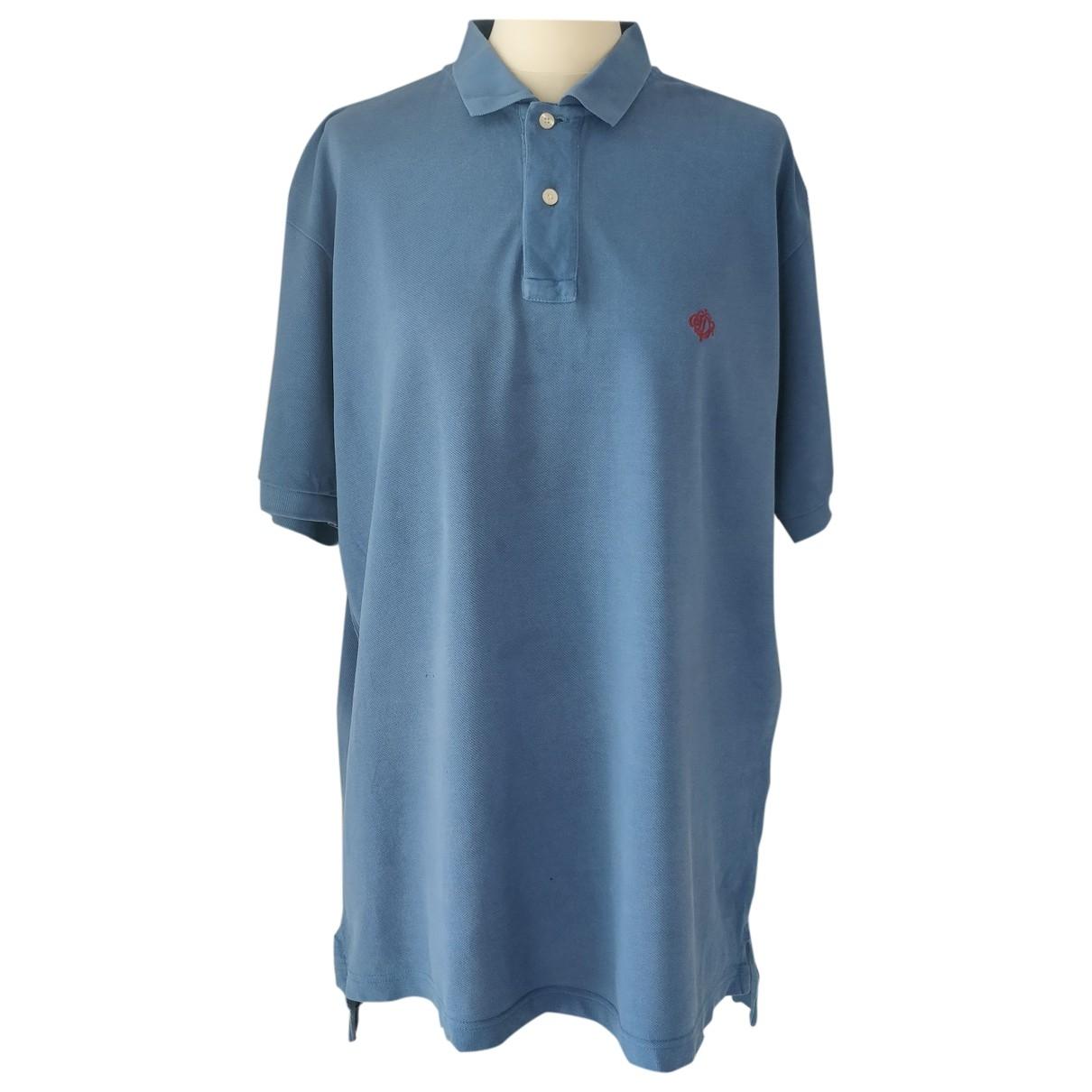 Polo en Algodon Azul Dior
