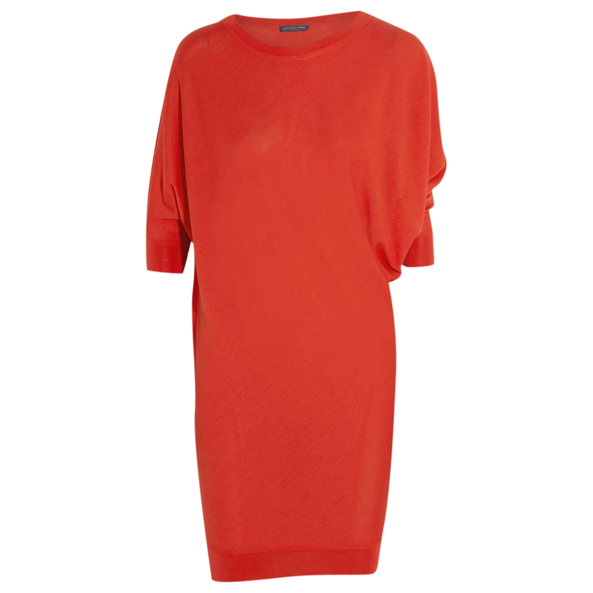 Alexander Mcqueen \N Pullover in  Rot Wolle