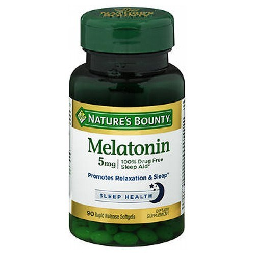 Nature's Bounty Super Strength Melatonin 24 X 90 Softgels by Nature's Bounty