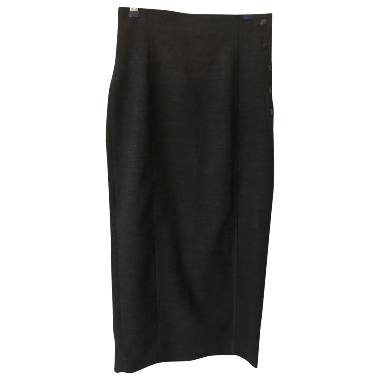 Kenzo - Jupe   pour femme en laine - anthracite