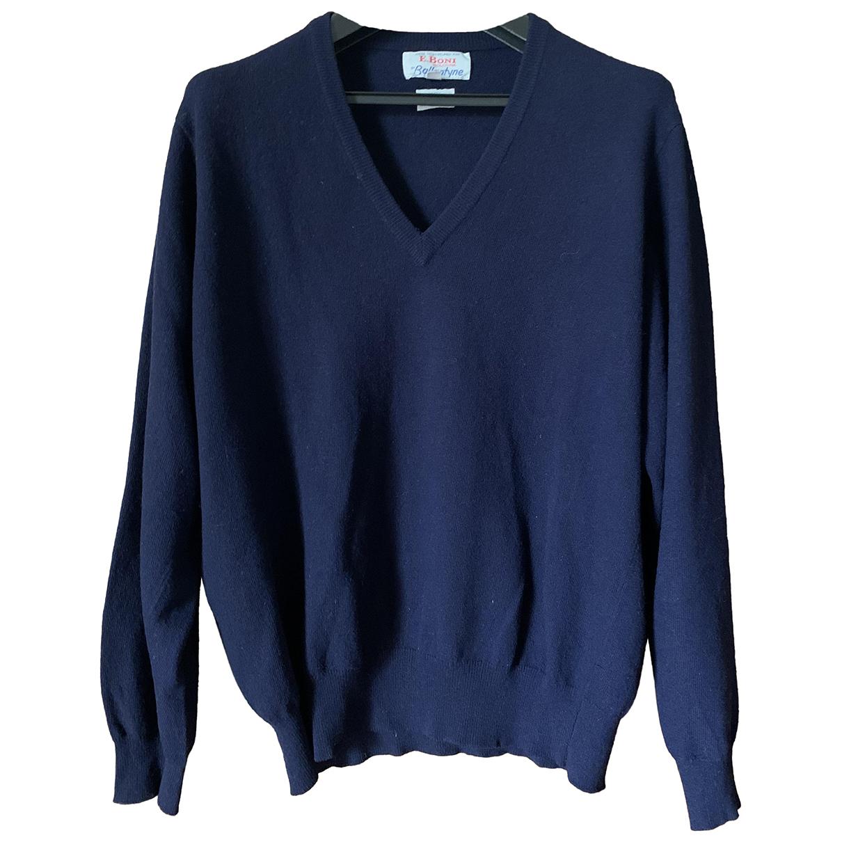 Ballantyne \N Pullover.Westen.Sweatshirts  in  Blau Kaschmir