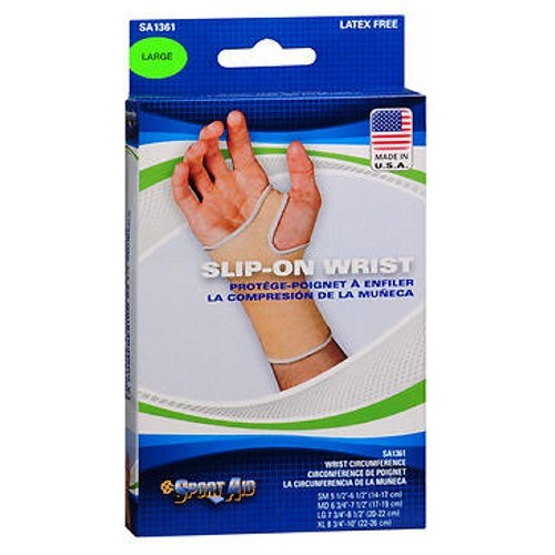 Sport Aid Slip-On Wrist Support Large each by Sport Aid