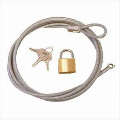 Rugged Ridge Cover Lock and Cable Kit - 13303.01
