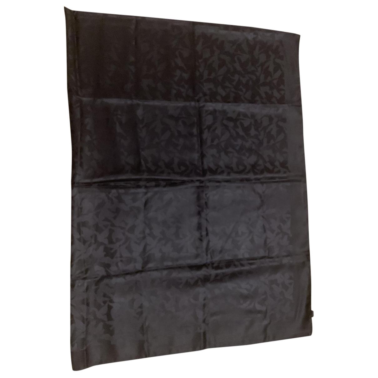 Nina Ricci N Black Silk scarf for Women N
